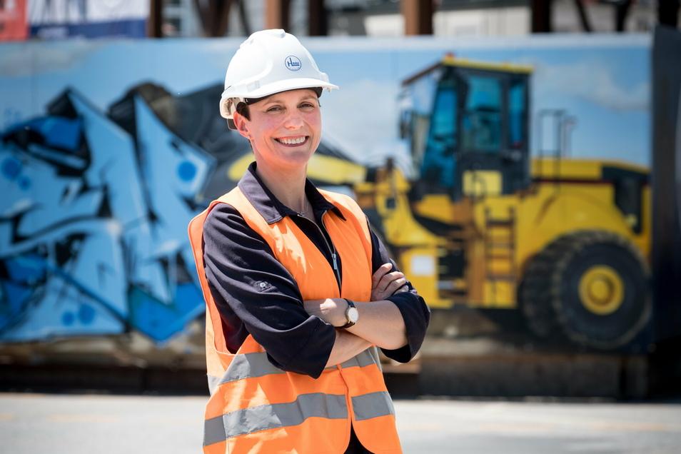 Bauunternehmerin Janet Lange versucht, Lehrlinge zu finden - und das auf ungewöhnliche Weise.