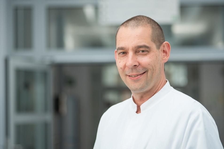 Dr. Stefan Zeller ist Chefarzt der Geriatrie, der Altersmedizin am Städtischen Klinikum Görlitz. © Paul Glaser