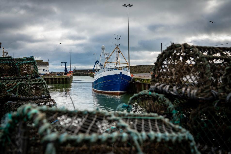 Einige britische Fischer landeten ihren Fang in Dänemark an, damit die Ware innerhalb des EU-Binnenmarkts bleibt, den Großbritannien am 1. Januar verlassen hat.