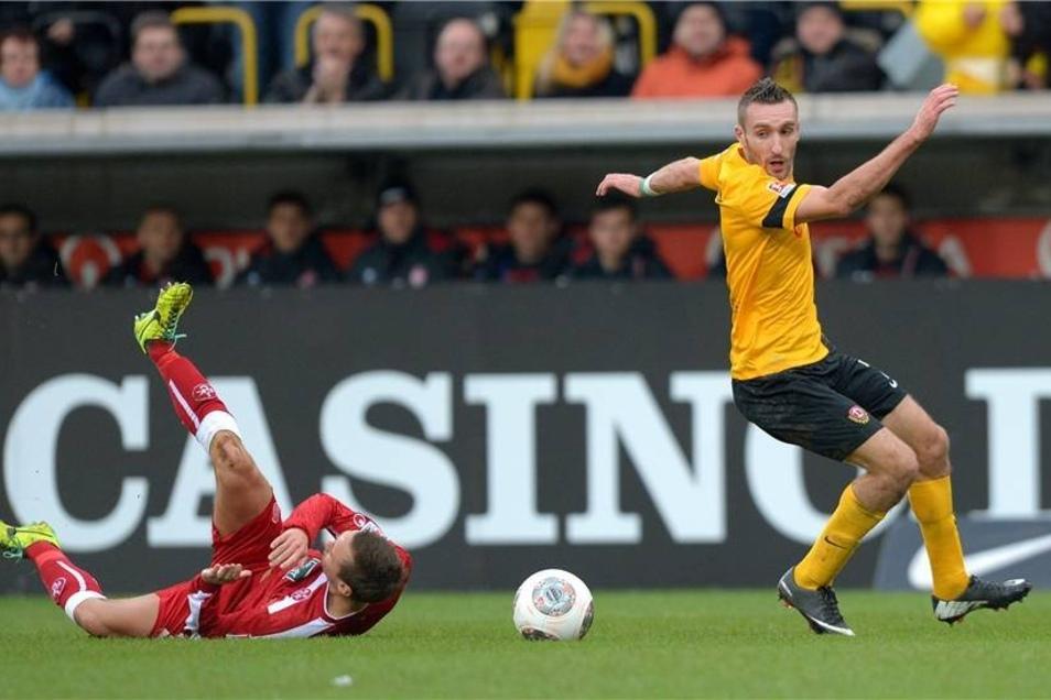 Dynamo Dresden hat sich am Sonnabend gegen den 1. FC Kaiserslautern einen Sieg erkämpft.