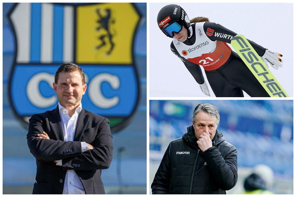 Der Sportmontag aus sächsische Sicht: In Chemnitz stellt sich der neue Sportchef vor, Kombiniererin Jenny Nowak ist nach der WM-Premiere enttäuscht und Uwe Neuhaus ist nicht länger Bundesliga-Trainer.