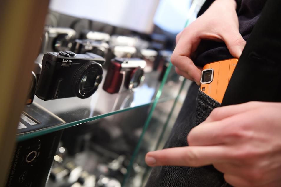 Elektronik ist bei Ladendieben besonders beliebt.