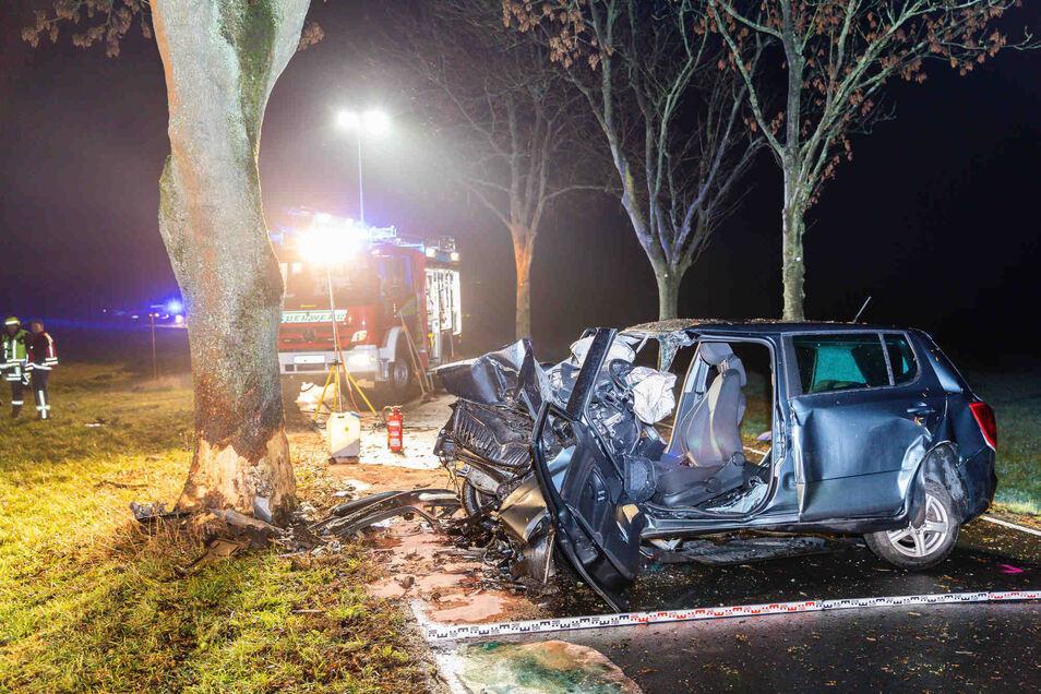Bei einem Unfall im Haselbachtal starb eine Frau.
