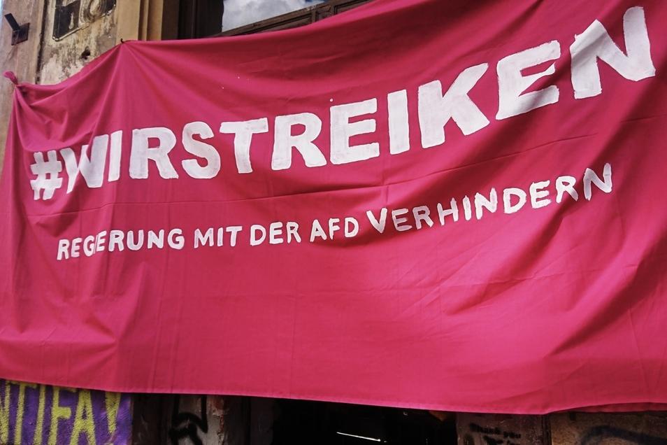 Die Initiative #wirstreiken will Druck auf die Union aufbauen.