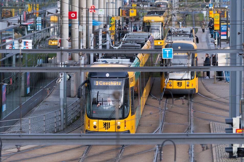 In Dresden werden nicht nur die Straßenbahnen ab dem Pfingstwochenende wieder häufiger fahren.