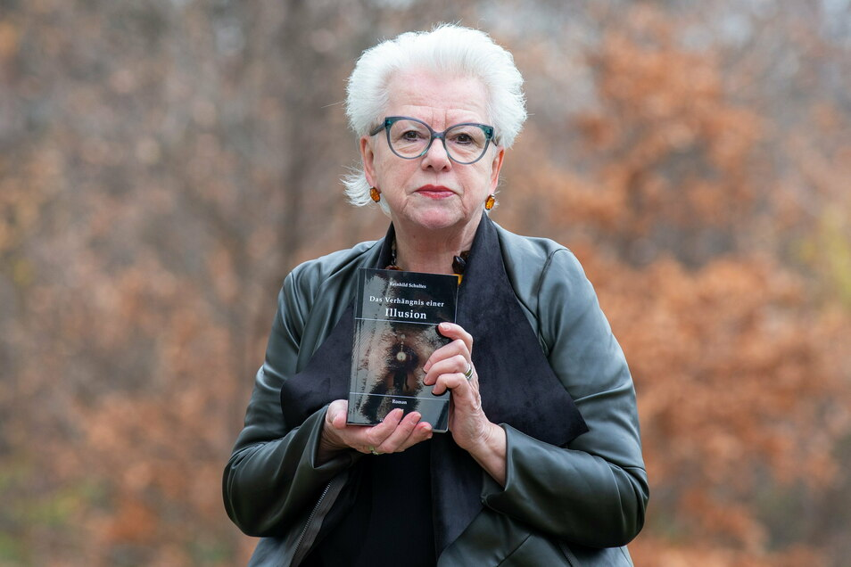 Die Autorin Reinhild Schultes aus Bannewitz hat ein neues Buch herausgebracht.