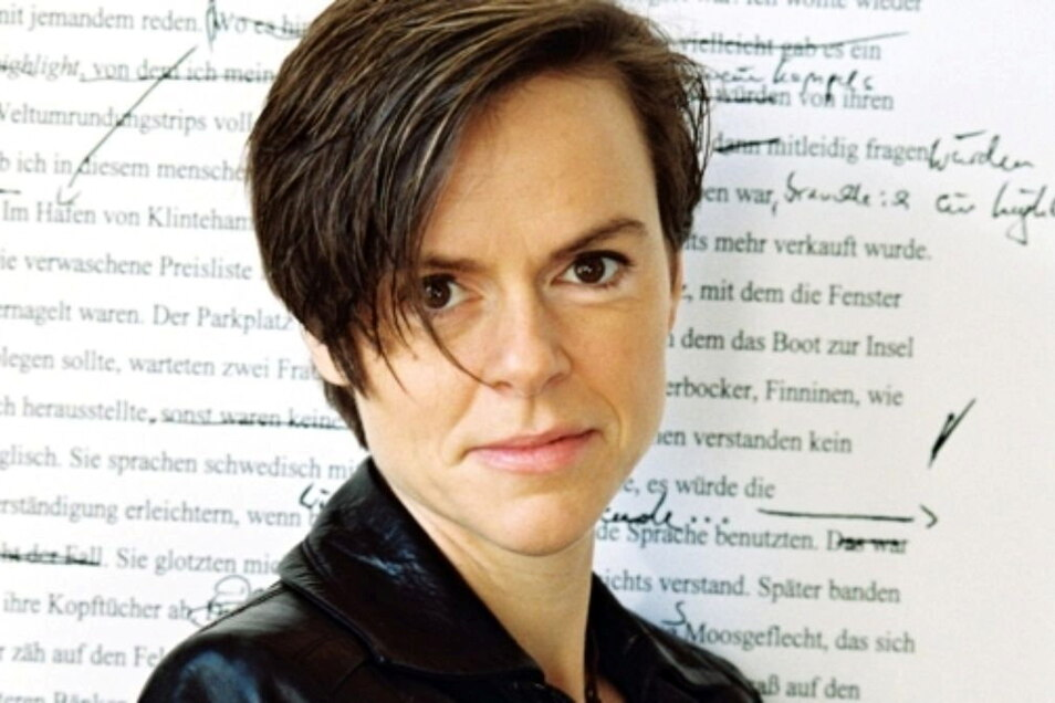 Auch Antje Rávic Strubel liest jetzt in Dresden.