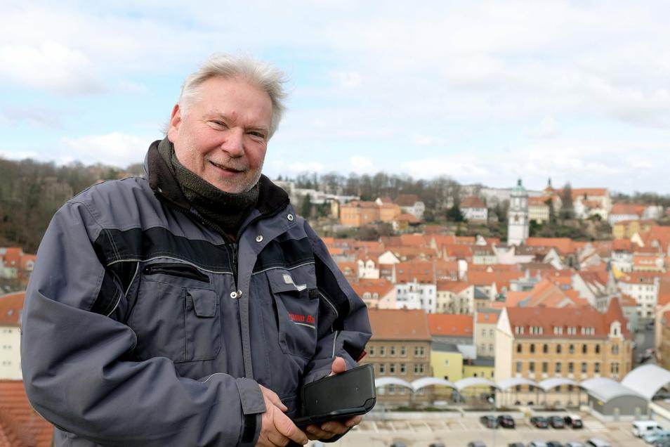 Ingolf Brumm will weiter gegen die Ausbau-Pläne am Plossen mobilisieren.