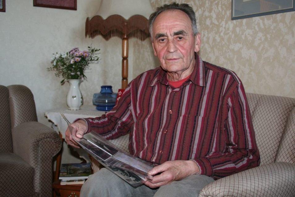 Georg Nuck ist heute 85 Jahre alt. Er lebt in Bautzen. Für die SZ blickt er auf das Kriegsende zurück.