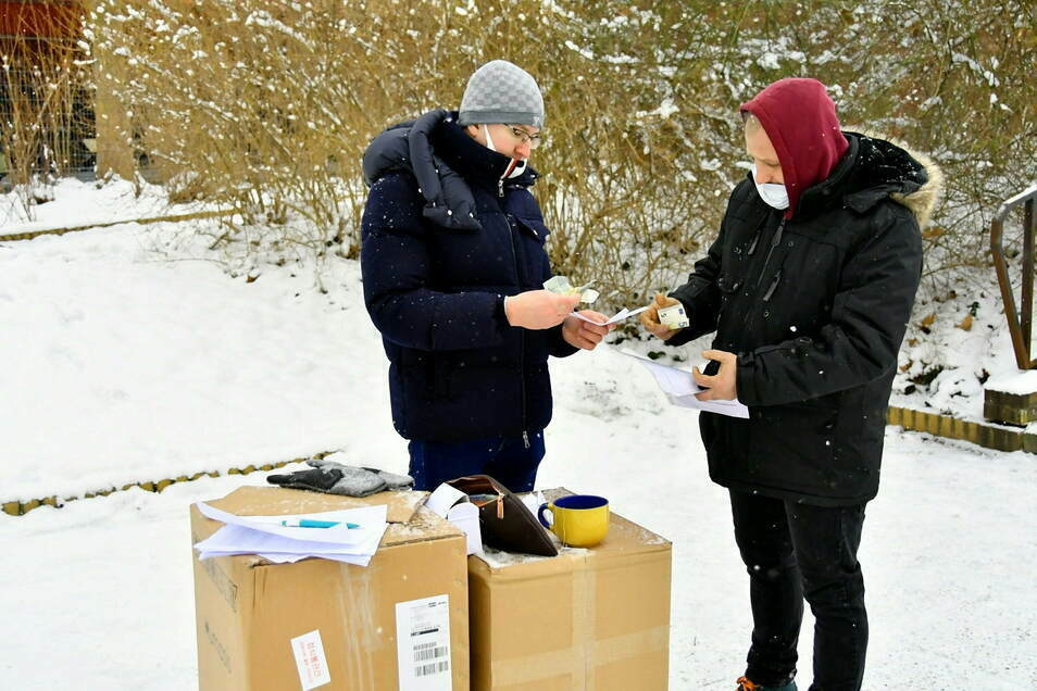 Vratislav Prejzek am ersten Wochenende beim Pendler-Test.