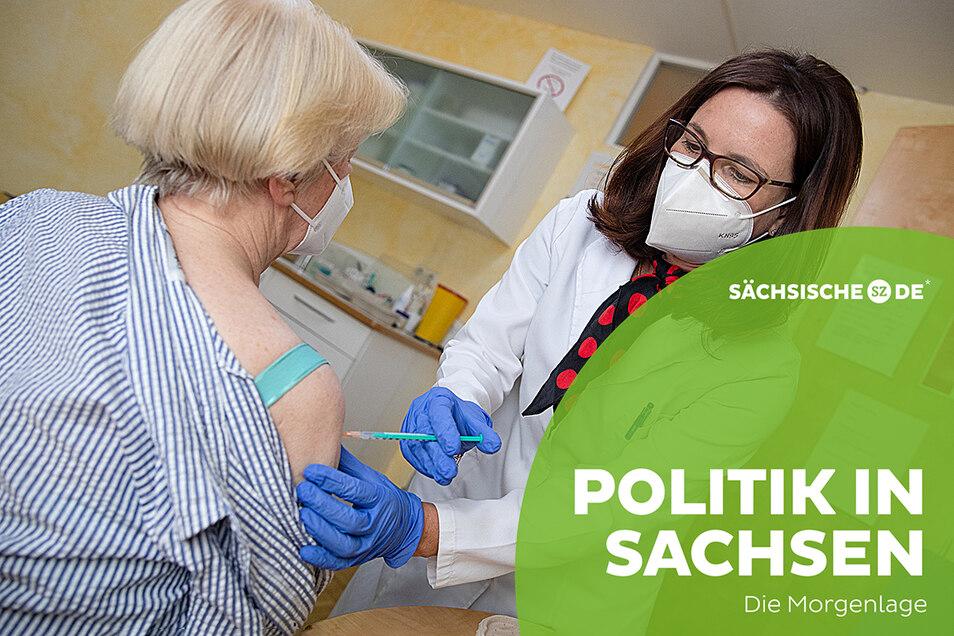 Hausärzte in Sachsen dürfen bald ohne Rücksicht auf Priorisierungsgruppen impfen.
