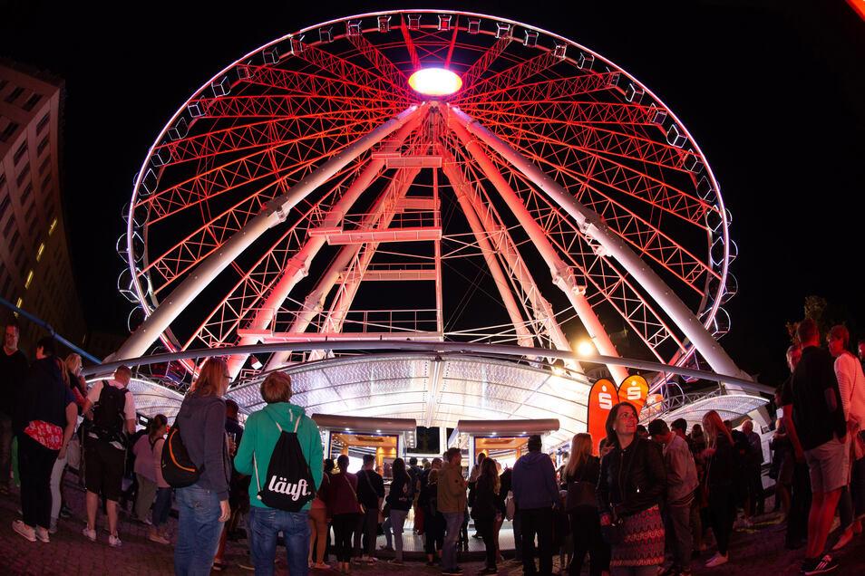 """Sicherlich ein Höhepunkt des Stadtfests: Aber war das """"Wheel of Vision"""" auch ein gelungener Höhepunkt?"""