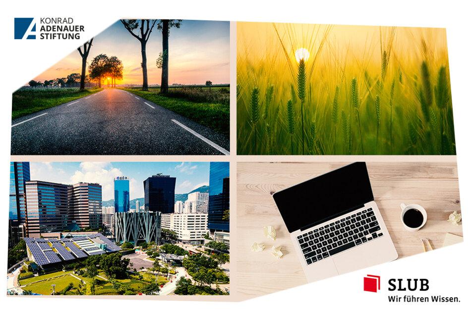 Was essen die Menschen in der Zukunft? Wie wird sich die Arbeitswelt verändern? Und wie sehen die Städte der Zukunft wohl aus? Die Zukunftsreihe der SLUB und der Konrad-Adenauer-Stiftung hält viele interessante Themen bereit.