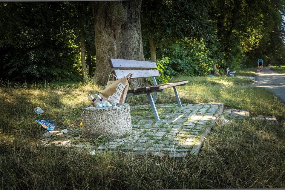 Müll liegt an vielen Stellen in der Natur rum. In und um Pulsnitz soll dieser jetzt eingesammelt werden.