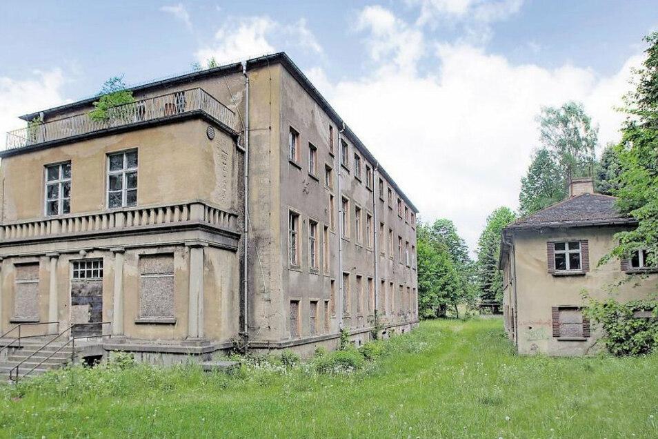 Im früheren Großröhrsdorfer Krankenhaus, dem Großmannstift, erblickten viele Rödertaler das Licht der Welt. Es wurde Ende des Vorjahres abgerissen.