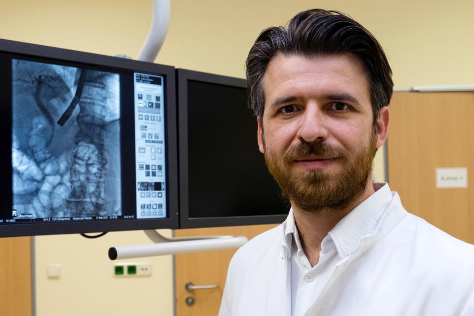 Hat die Innere Medizin im St. Carolus erheblich weiter gebracht: Dr. Marjan Stojanoski, Chefarzt der Klinik für Innere Medizin und Palliativmedizin.