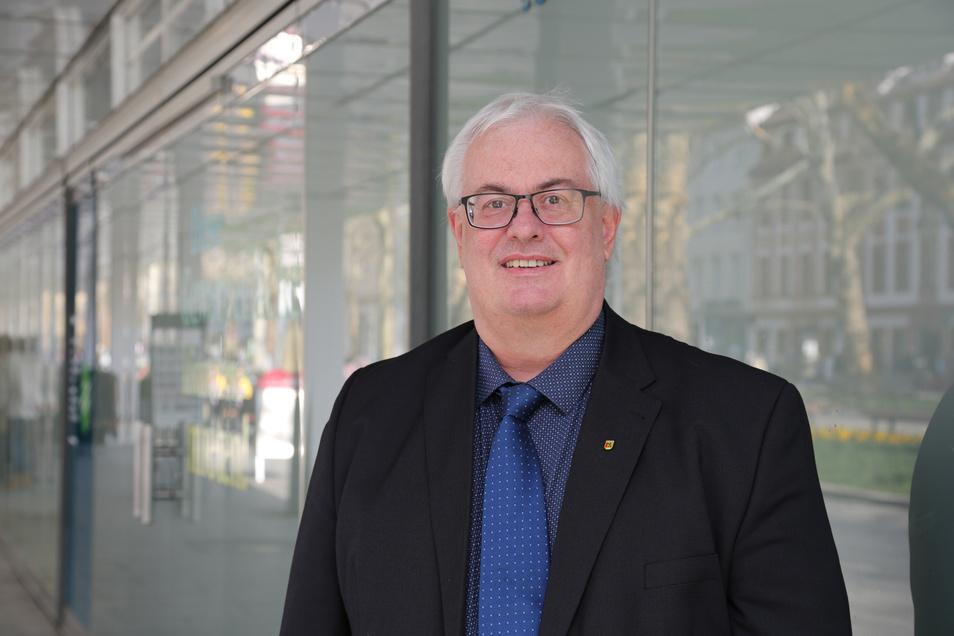 Ist zwar als Stadtrat nicht mehr aktiv, verfolgt aber die politische Entwicklung in Meißen genau: ULM-Mitgründer Wolfgang Tücks.