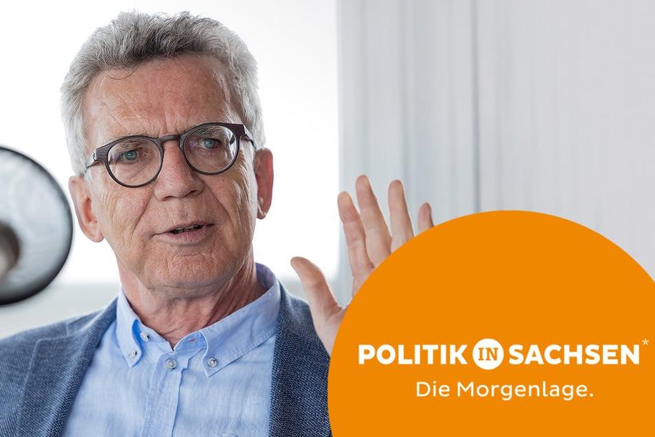 Thomas de Maizière war als Minister zwölf Mal in Afghanistan - und hat wie kaum ein zweiter Einblick in die Spannungen des Bundeswehr-Einsatzes am Hindukusch.