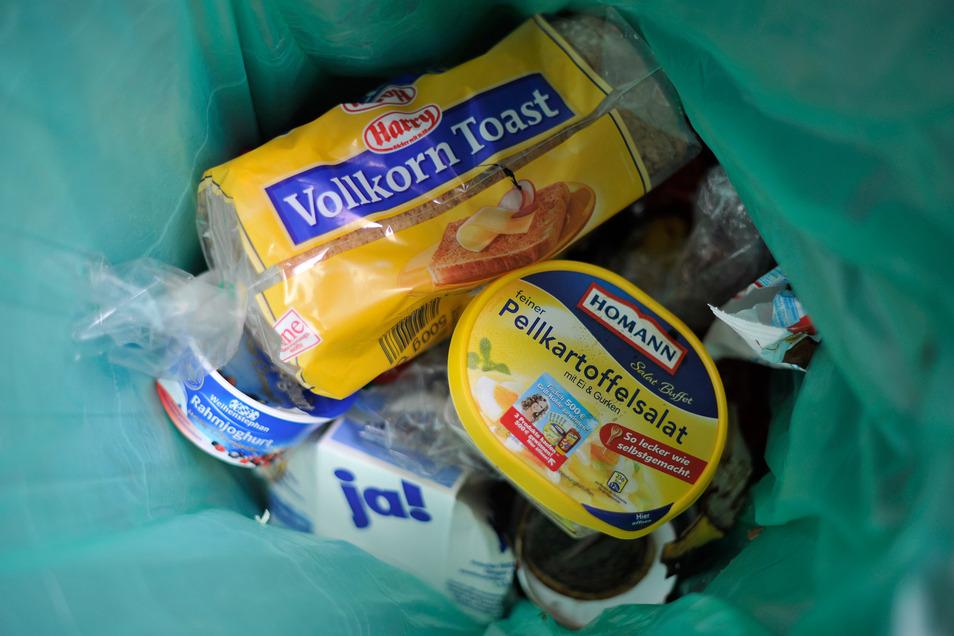 Auch in Dresden werden tonnenweise Lebensmittel entsorgt.