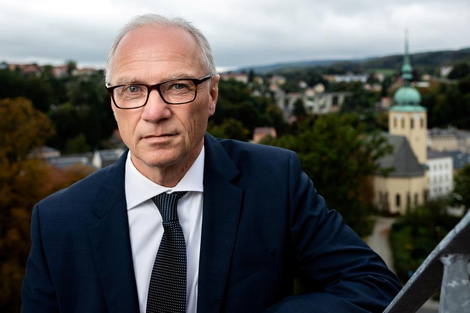 Mike Ruckh: Am 30. September hat er nach 28 Jahren seinen letzten Arbeitstag als Oberbürgermeister von Sebnitz. Er wechselt in die Energiewirtschaft.