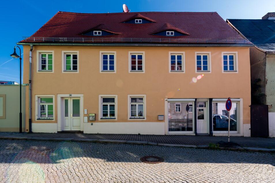 Im Gebäude Böhmische Straße 19 wohnten die Eheleute Meta und Erich Israel.