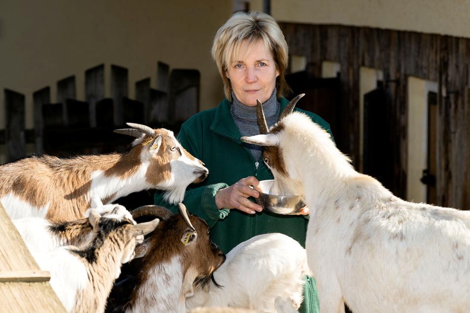 Silvia Berger vom Tierpark Bischofswerda wünscht sich eine baldige Öffnung. Doch gebe es dafür noch keinen Termin.