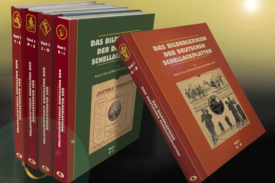 """Rainer E. Lotz fasste sein Wissen im """"Bilderlexikon der deutschen Schellackplatten"""" zusammen."""