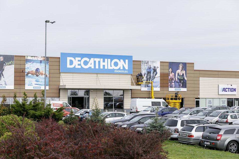 Neue Decathlon-Filiale in Zgorzelec  Foto: Nikolai Schmidt