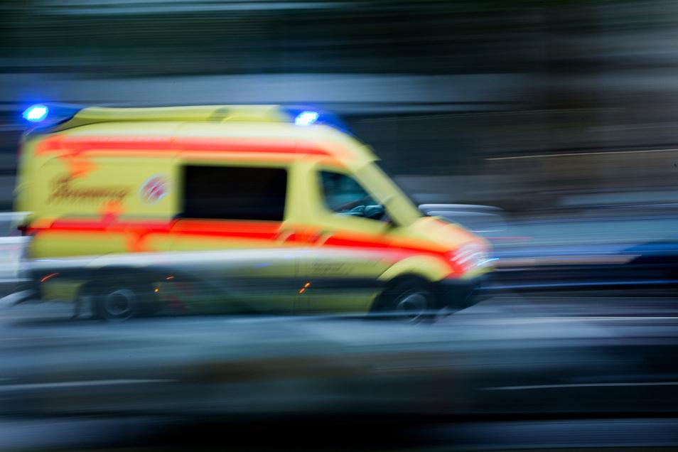 Ein Rettungswagen muss innerhalb von zwölf Minuten am Einsatzort sein.