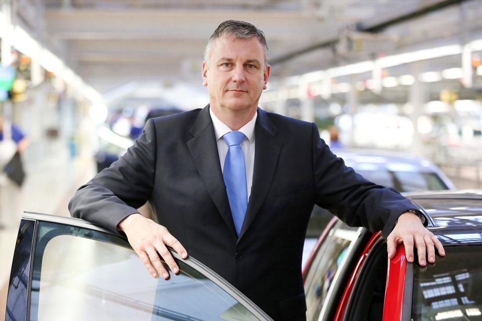 Stephan Loth, Vorsitzender in der Geschäftsführung der Volkswagen Sachsen GmbH.