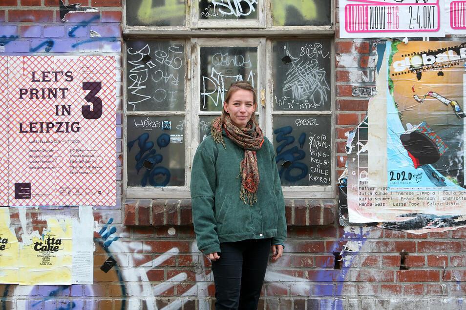 Anna Diepold studiert Kunstwissenschaften in Leipzig.