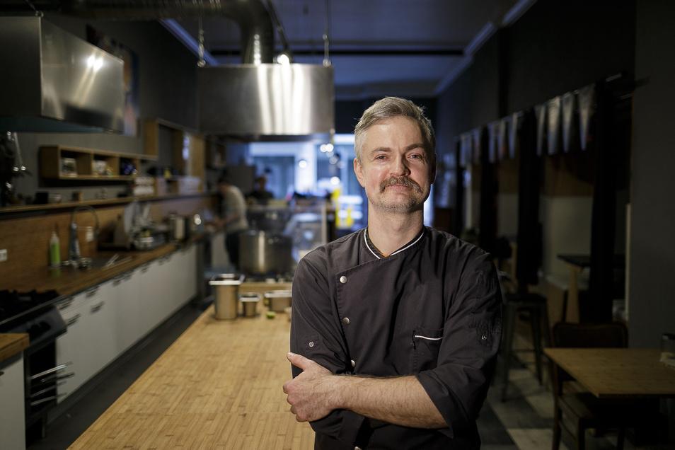 Grzegorz Owsian arbeitet jetzt im Restaurant Jakobs Söhne auf der Jakobstraße.