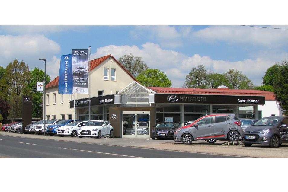 Das moderne Autohaus finden Sie auf der Meißner Str. 358 in Radebeul.