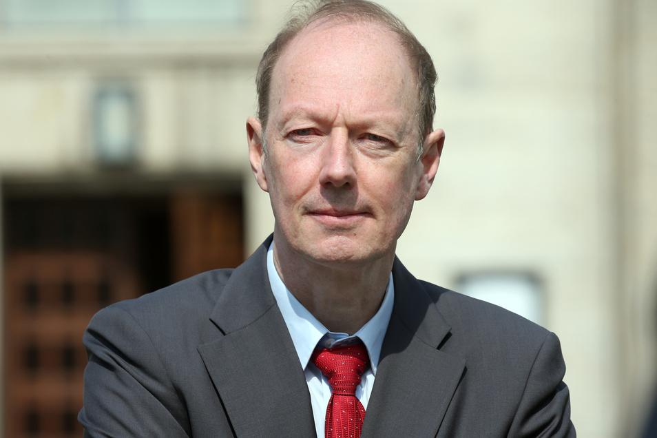 Martin Sonneborn ist Politiker der Satire-Partei Die Partei.