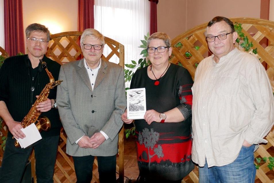 V.l.n.r.: Jörg Blumberg, Burkhard Unterdörfer, Johanna Gruner, Rainer Gruß.