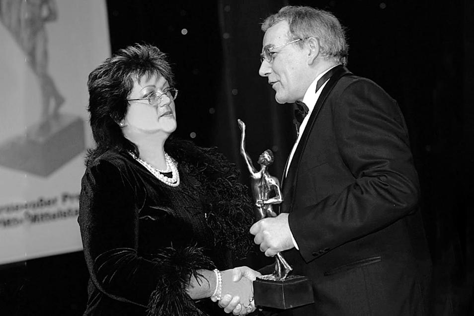 Im Jahr 2005 wurde Ratag-Gründerin Gitta Heider mit dem Mittelstands-Oscar geehrt.