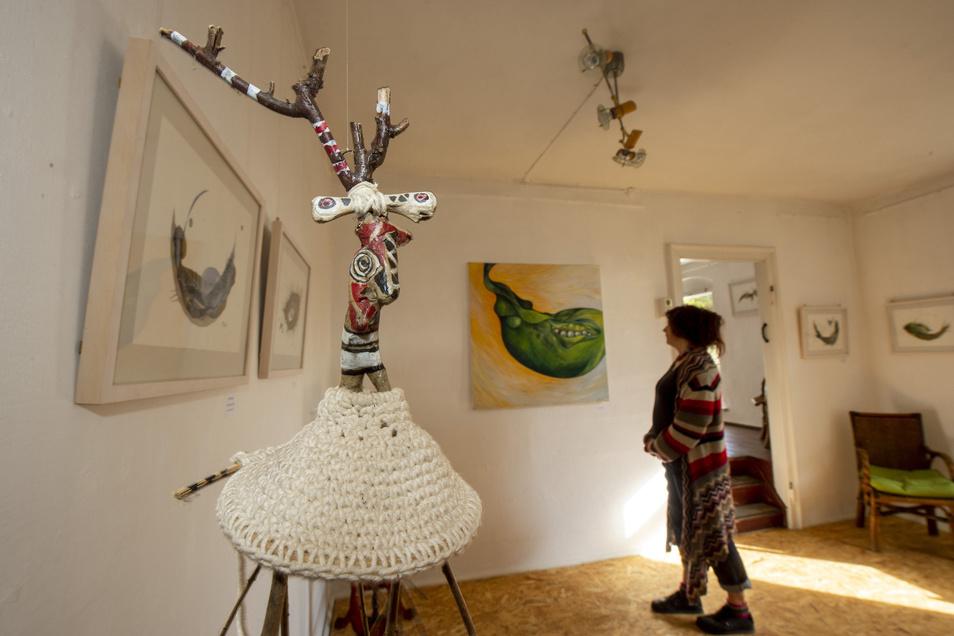 Die Werke sind noch bis Ende Januar in der Galerie auf der Oberen Bergstraße zu sehen.