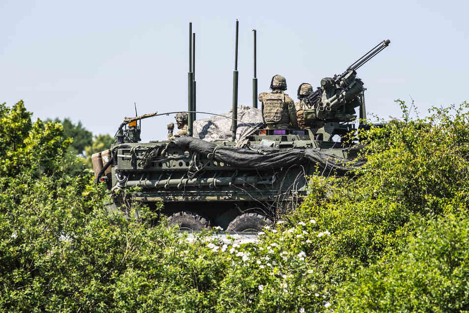 Vor gut einem Jahr zog ebenfalls ein Konvoi über die A4 nach Polen.