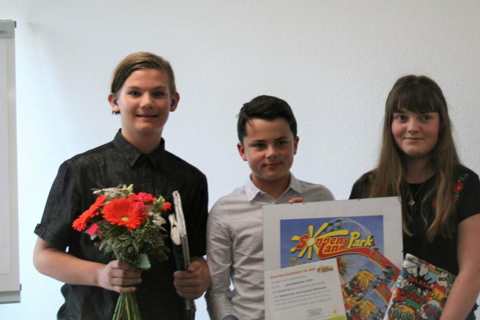 """Die Schüler des Städtischen Gymnasiums Mittweida erreichten mit ihrem Projekt den ersten Platz bei """"Umwelthelden gesucht""""."""
