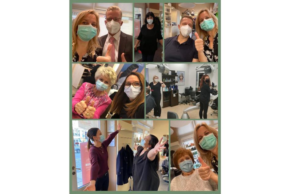 Impressionen aus dem Jubiläumsjahr: Anders als geplant haben die Mitarbeiterinnen und Mitarbeiter der Haarpflege eG dennoch das Beste daraus gemacht.