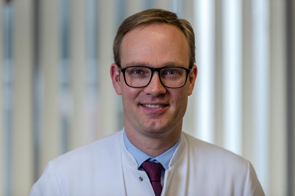 HNO-Chefarzt Dr. Alexander Blödow:  Je intensiver der Lärm, desto größer die Gefahr fürs Ohr.