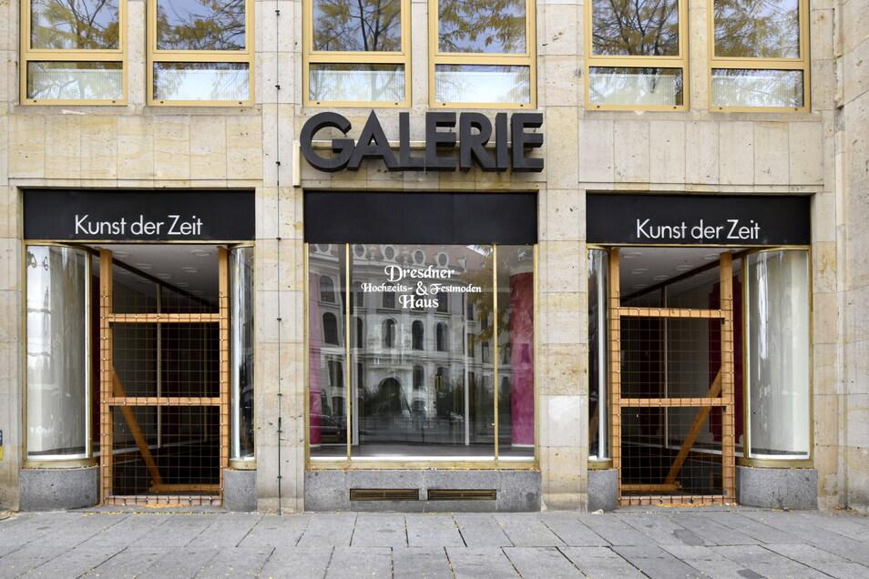 In Dresdens Innenstadt stehen viele Läden leer.