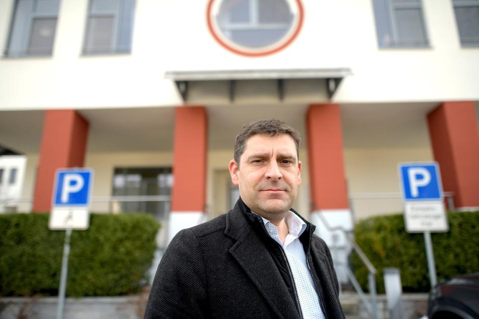 Steffen Thiele ist jetzt alleiniger Geschäftsführer für die Krankenhäuser in Weißwasser, Ebersbach und Zittau.