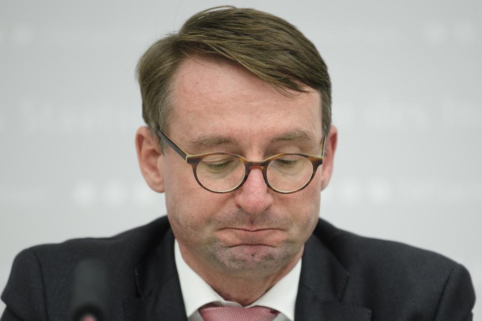 Roland Wöller (CDU), Innenminister von Sachsen.