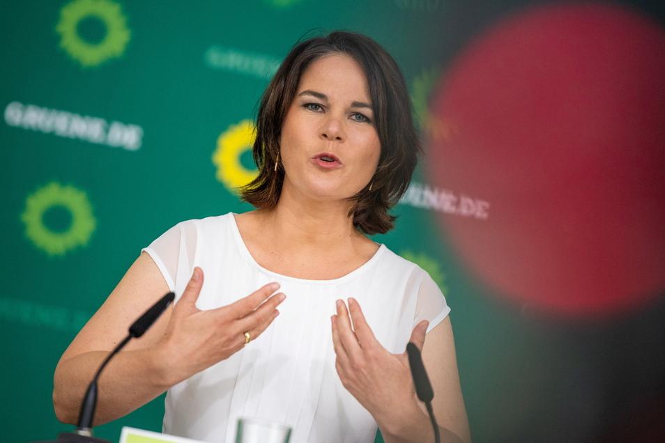 Grünen-Parteichefin Annalena Baerbock will ein Klimaschutzministerium mit Vetorecht schaffen.