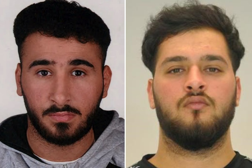 Das BKA fahndet nach Abdul Majed Remmo (l.). Sein Bruder Mohamed Remmo wurde Mitte Dezember in Berlin-Neukölln festgenommen.