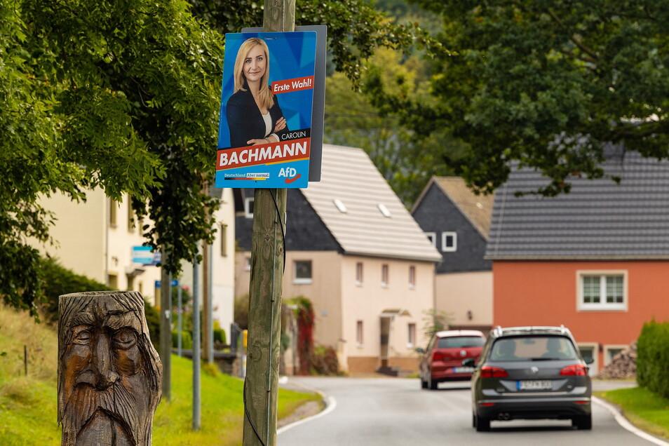 Dorfchemnitz ist die Gemeinde mit dem deutschlandweit prozentual höchsten Anteil an AfD-Wählern. Fast jeder Zweite wählte in dem Ort in Mittelsachsen die AfD.