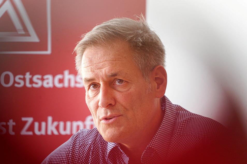 Uwe Garbe tritt die Nachfolge von Jan Otto an. Er ist gleichzeitig auch 1. Bevollmächtigter der IG Metall Ostsachsen.