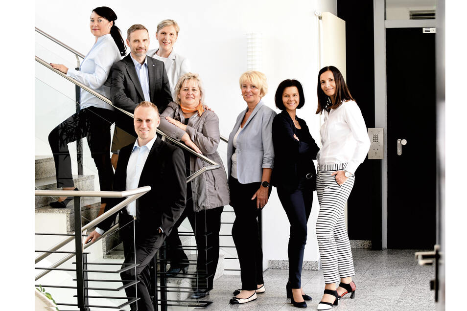 Das Team der VB Löbau-Zittau berät seine Kunden zur passenden Anlagestrategie.