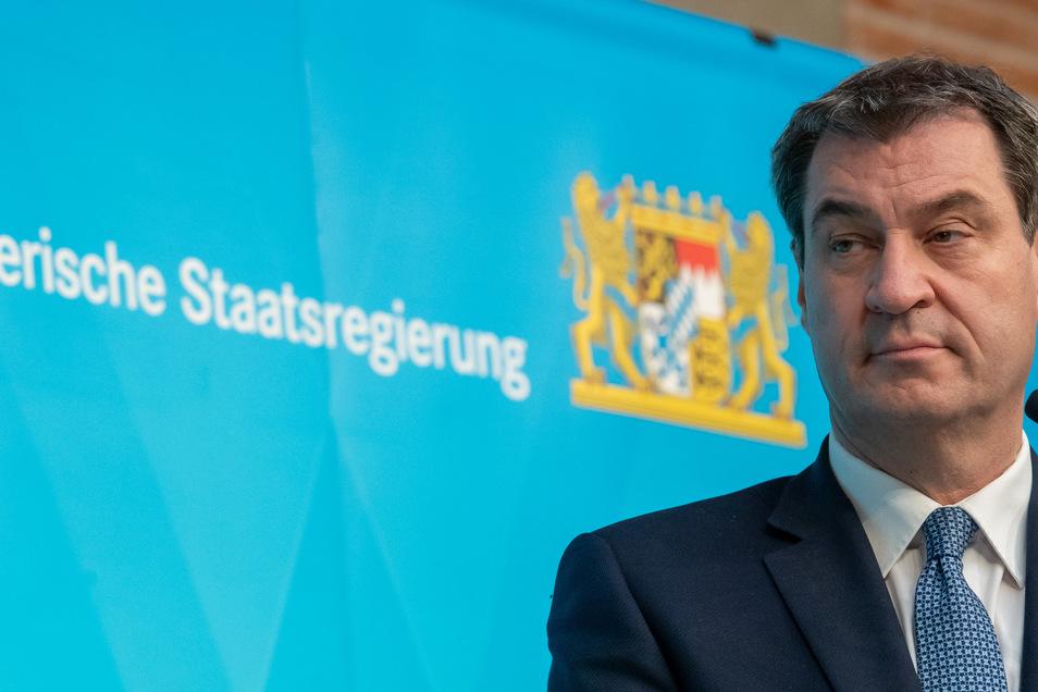 Gilt als möglicher Kanzlerkandidat: Bayerns Ministerpräsident Markus Söder.